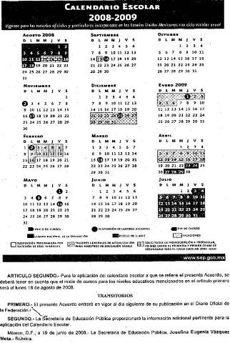 Calendario Chile Vacunas