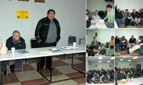 Ver Héctor Lara con Srios Grales y Comité Estatal en Ensenada