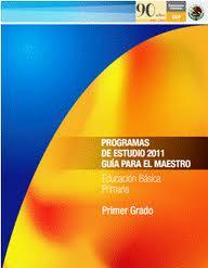 Plan de Estudio 2011-2012 SEP México