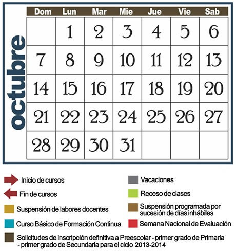 Calendario Escolar 2012 – 2013 | Setebc's WordPress (Inicio)