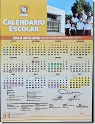 calendario 213-2014 Sonora