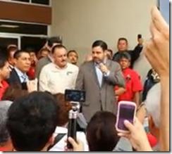 Agustin Morales y Lic. Benitez