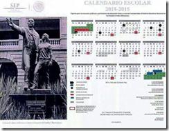 Falso Calendario Escolar 2014-2015