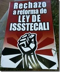No a la ley a la ley ISSSTECALI